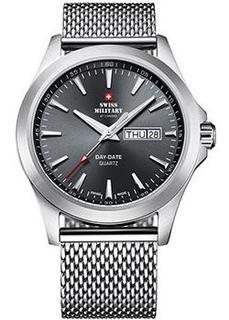 Швейцарские наручные мужские часы Swiss military SMP36040.04. Коллекция Кварцевые часы