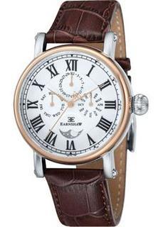 мужские часы Earnshaw ES-8031-03. Коллекция Maskelyne