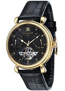 мужские часы Earnshaw ES-8046-08. Коллекция Grand Calendar
