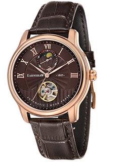 мужские часы Earnshaw ES-8066-04. Коллекция Longitude Moonphase