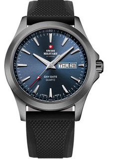 Швейцарские наручные мужские часы Swiss military SMP36040.18. Коллекция Day Date