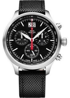 Швейцарские наручные мужские часы Swiss military SM34064.01. Коллекция Кварцевые хронографы