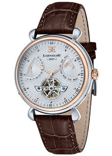 мужские часы Earnshaw ES-8046-04. Коллекция Grand Calendar