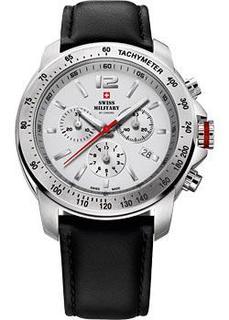 Швейцарские наручные мужские часы Swiss military SM34033.05. Коллекция Кварцевые хронографы