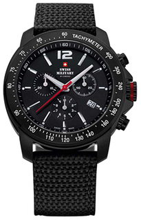 Швейцарские наручные мужские часы Swiss military SM34033.06. Коллекция Military