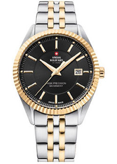 Швейцарские наручные мужские часы Swiss military SM34065.04. Коллекция Кварцевые часы
