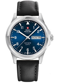 Швейцарские наручные мужские часы Swiss military SM34071.03. Коллекция Day Date