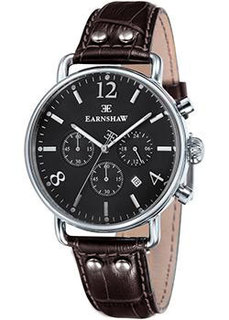 мужские часы Earnshaw ES-8001-08. Коллекция Investigator
