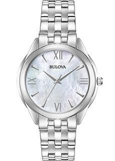 Японские наручные женские часы Bulova 96L268. Коллекция Classic