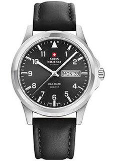 Швейцарские наручные мужские часы Swiss military SM34071.04. Коллекция Day Date