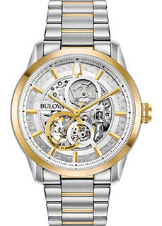 Японские наручные мужские часы Bulova 98A214. Коллекция Sutton