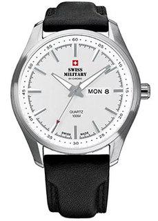 Швейцарские наручные мужские часы Swiss military SM34027.06. Коллекция Кварцевые часы