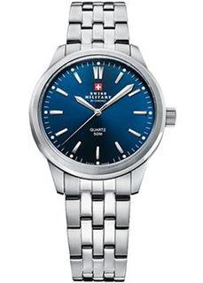 Швейцарские наручные женские часы Swiss military SMP36010.09. Коллекция Кварцевые часы