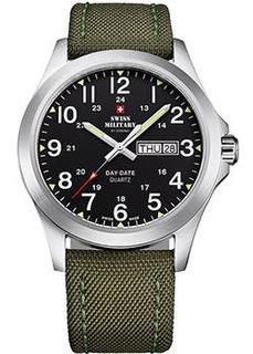 Швейцарские наручные мужские часы Swiss military SMP36040.05. Коллекция Day Date