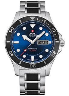 Швейцарские наручные мужские часы Swiss military SM34068.02. Коллекция Кварцевые часы