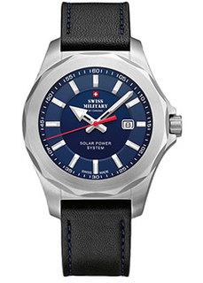 Швейцарские наручные мужские часы Swiss military SMS34073.05. Коллекция Кварцевые часы
