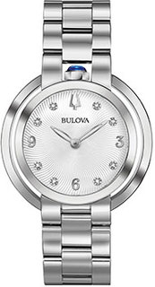 Японские наручные женские часы Bulova 96P184. Коллекция Rubaiyat