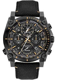 Японские наручные мужские часы Bulova 98B318. Коллекция Precisionist