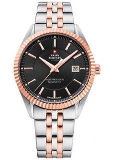 Швейцарские наручные мужские часы Swiss military SM34065.06. Коллекция Кварцевые часы