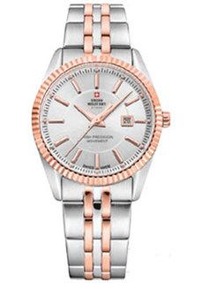 Швейцарские наручные женские часы Swiss military SM34066.07. Коллекция Кварцевые часы