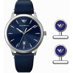 fashion наручные мужские часы Emporio armani AR80032. Коллекция Dress Watch Gift Set