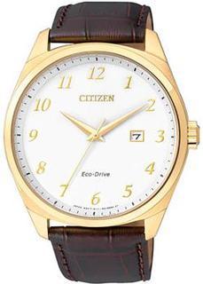 Японские наручные мужские часы Citizen BM7322-06AE. Коллекция Eco-Drive