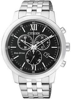 Японские наручные мужские часы Citizen AT2301-82E. Коллекция Eco-Drive