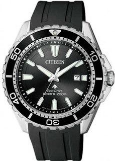 Японские наручные мужские часы Citizen BN0190-15E. Коллекция Eco-Drive