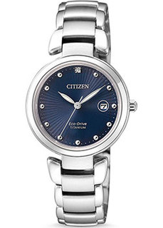 Японские наручные женские часы Citizen EW2500-88L. Коллекция Eco-Drive