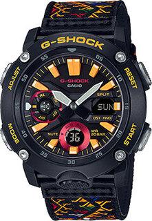 Японские наручные мужские часы Casio GA-2000BT-1AER. Коллекция G-Shock