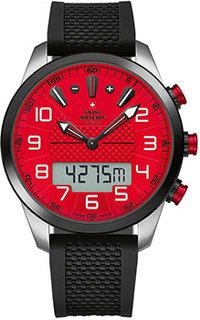Швейцарские наручные мужские часы Swiss military SM34061.02. Коллекция Кварцевые хронографы