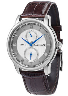 мужские часы Earnshaw ES-8106-02. Коллекция Longitude
