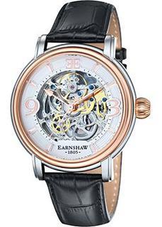 мужские часы Earnshaw ES-8011-06. Коллекция Longcase