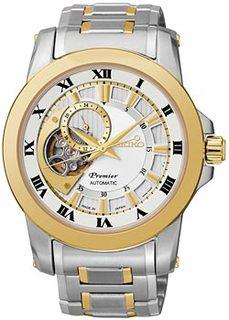 Японские наручные мужские часы Seiko SSA216J1. Коллекция Premier
