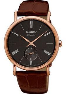 Японские наручные мужские часы Seiko SRK040P1. Коллекция Premier
