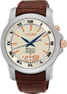 Японские наручные мужские часы Seiko SNQ150P1. Коллекция Premier