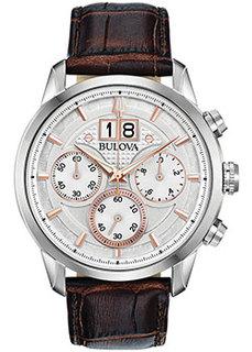 Японские наручные мужские часы Bulova 96B309. Коллекция Sutton