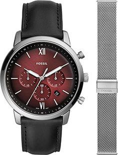 fashion наручные мужские часы Fossil FS5600_SET. Коллекция Neutra