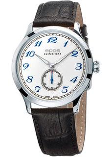 Швейцарские наручные мужские часы Epos 3408.208.20.30.15. Коллекция Originale