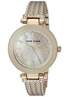 fashion наручные женские часы Anne Klein 1906TMGB. Коллекция Crystal
