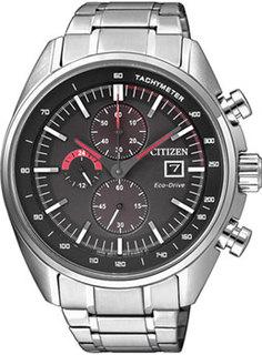 Японские наручные мужские часы Citizen CA0590-58EE. Коллекция Eco-Drive