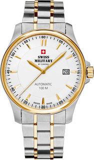 Швейцарские наручные мужские часы Swiss military SMA34025.03. Коллекция Механические часы