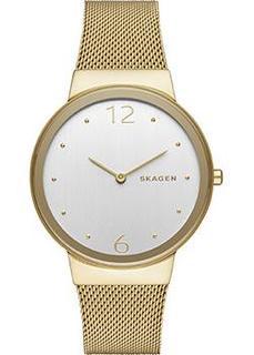 Швейцарские наручные женские часы Skagen SKW2519. Коллекция Mesh