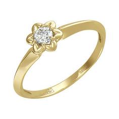 Золотое кольцо 01K636718 Ювелирное изделие