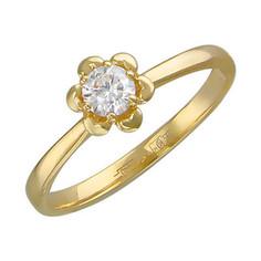 Золотое кольцо 01K636720 Ювелирное изделие