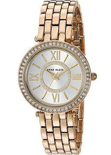 fashion наручные женские часы Anne Klein 2966SVGB. Коллекция Crystal