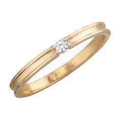 Золотое кольцо 01K617407 Ювелирное изделие