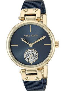 fashion наручные женские часы Anne Klein 3001GPBL. Коллекция Crystal