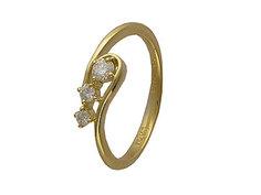 Золотое кольцо 01K643663 Ювелирное изделие