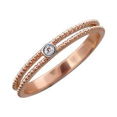 Золотое кольцо 01K617881 Ювелирное изделие